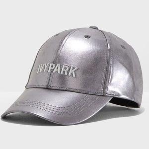 IVY PARK metallic baseball cap